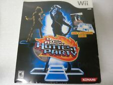 Wii Dance Dance Revolution Hottest Party by Konami  - Game and Controller  - New