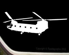 CH-47 Chinook Helicopter Aircraft Pilot Window Decal Sticker SK-R01