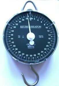 Reuben Heaton Standard Angling Scales -  60lb & 120lb , Pouch or Weigh Bar