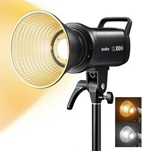 Godox SL100Bi Bi-Color LED Video Light 2800-6500K for Photography Studio Youtube