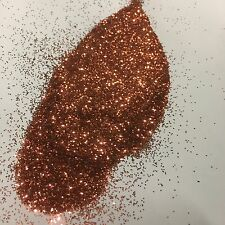 1kg Rose Gold Glitter 015 0.375mm Hex Double Sided Body Nails Kilogram