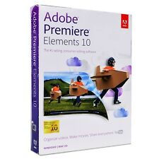 NEW Adobe Premiere Elements 10 Editing Software - Windows/Mac OSX