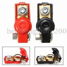 12V Adjustable Auto Car Battery Terminal Clamp Clips Connector Positive Negative