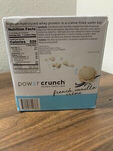 Power Crunch | Protein Energy Bars 12pk French Vanilla Flavor