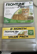 New listing Frontline Plus Flea & Tick+ Control for Cats and Kittens 8 Month Supply