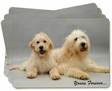 Labradoodle Dogs 'Yours Forever' Picture Placemats in Gift Box, AD-LD1yP