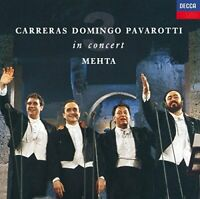 Zubin Mehta - Carreras Domingo Pavarotti in Concert [CD]