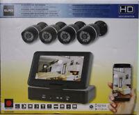 Überwachungskamera-Set Kamera Digitalrecorder Monitor Überwachung Farbkamera HD