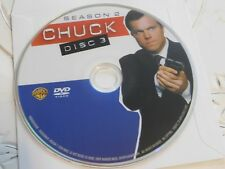 Chuck Second Season 2 Disc 3 Replacement DVD Disc Only 28-273