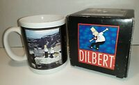 "Dilbert by Scott Adams ""Leadership"" Motivational Comical Collectible Coffee Mug"