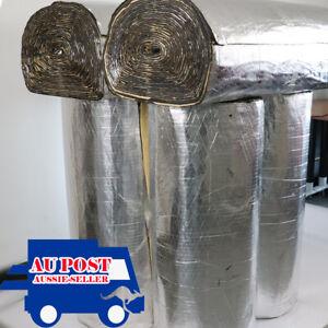 26Sqft Noisy Heat Reducation Sound Deadener Proofing Foam Automotive Roof Hood