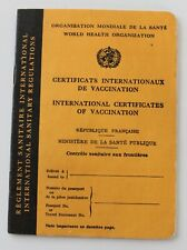 Set de carnet de vaccination