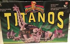 Vintage 1993 Mighty Morphin Power Rangers Titanos-original packaging/instruction
