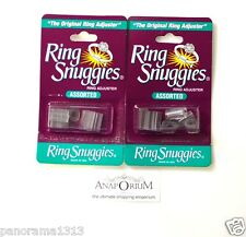 2X Ring Guard Snuggies/The Original Ring Size Adjuster-pack of 6 Assorted Sizes