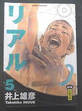 real vol 5 takehiko inoue big kana manga