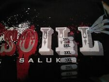 Nwt Southern Illinois Salukis Officially Licensed Anvil T-shirt 3Xl 3X black