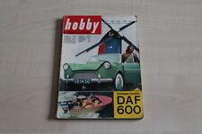 156655) DAF 600 - Hobby 07/1958