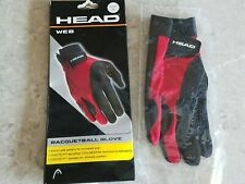 New - Head Web Racquetball Glove Right Hand - SMALL  FREE SHIPPING