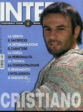 Inter Football Club anno 2004 n° 04 Cristiano