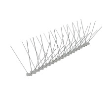 bird/pigeon spikes 3 metr kit, stainless spikes polycarbonate bace