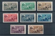 [37855] Albania 1947 Trains Good set Very Fine MNH stamps