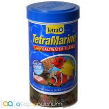 Tetra Marine Large Saltwater Flakes 2.82oz (80g) Fish Food Clean Water Formula