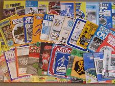 Joblot of 50 York City Away Programmes - Various Seasons - All Listed