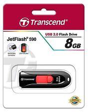 Transcend JetFlash 590k 8gb USB 2.0 memoria flash