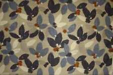 John Lewis Curtain/Upholstery Fabric Design Sakura blue 3 metres sale fabric