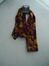 """D&Y Fashion Green/Orange/Purple/Black/Brown/Red Scarf Handcrafted in India 70"""" x"""