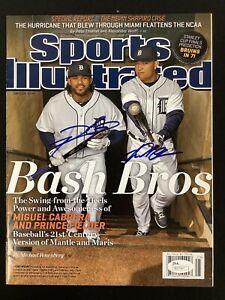 Miguel Cabrera Signed Sports Illustrated Mag 6/17/13 No Label Fielder Auto JSA