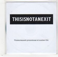 (GD340) This Is Not An Exit, The Flowers That Fell - DJ CD