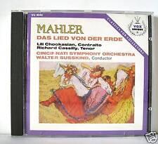 MAHLER DAS LIED VON DER ERDE   CD
