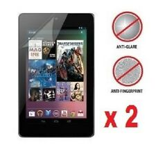 2 X Google Nexus 7 1st Gen Anti-Glare (Matte) Screen Protectors