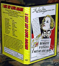 I MET MY LOVE AGAIN - DVD - Joan Bennett, Henry Fonda  Drama Full Screen