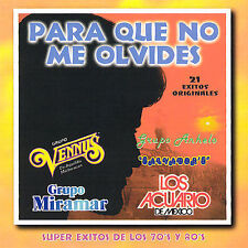 FREE US SHIP. on ANY 2 CDs! USED,MINT CD Para Que No Me Olvides: Para Que No Me