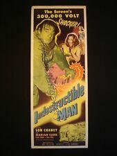 Indestructible Man Lon Chaney Allied Artists Sci-Fi Movie 1956