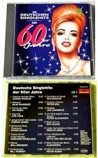DEUTSCHE SINGLEHITS DER 60ER JAHRE (1) Renate Kern,Leo Leandros...Polydor CD TOP