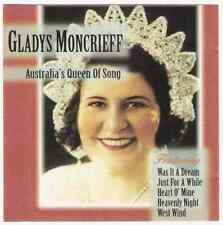 GLADYS MONCRIEFF Australia's Queen Of Song CD 1928-35 EMI 25trks 1996 our glad