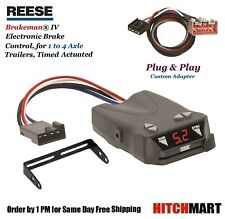 REESE TRAILER BRAKE CONTROL & ADAPTER FOR 2009-2019 FORD F150 F250 F350 PICKUP