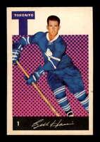 1962 Parkhurst #1 Billy Harris ! EXMT X1502312