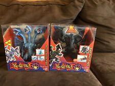 Yu-Gi-Oh! 2002 Mattel Blue Eyes Ultimate Dragon / Black Skull Dragon Sealed New