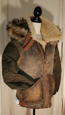 NWT Polo Ralph Lauren Rare Hybrid Shearling Jacket Leather Coat M $2498