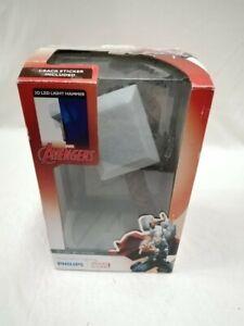 MARVEL Avengers Thor Hammer 3D FX Wall Light In Box + Sticker #206