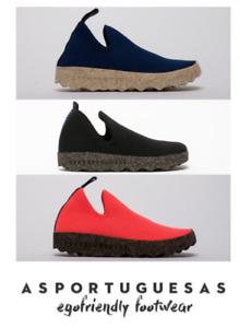 Asportuguesas Care Sustainable Comfort Trainer Shoe Cork Sole Eco Friendly