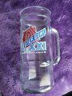 Vintage 1987 Super Bowl XXI Beer Glass Mug Rose Bowl Pasadena January 25 1987