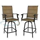 Swivel Patio Chairs Furniture For Outdoor Porch, Deck, Yard, Lawn & Garden Usa