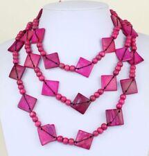 Longer than 90 cm Wooden Costume Necklaces & Pendants