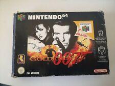 GoldenEye 007 Nintendo 64 N64 PAL SPA ESP España Completo