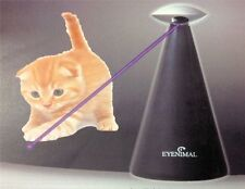 Eyenimal Automatic Laser Light Pointer Cat Toy w 3 speeds slow, rapid, or random
